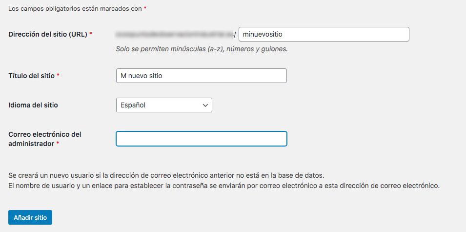 Wordpress multisitio paso a paso