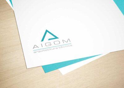 Diseño de marca para Aitor Gómez